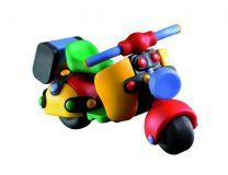 Dřevěné hračky Mic-o-mic - Stavebnice - Skútr