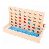Dřevěné hračky Bigjigs Toys Čtyři v rovině