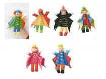 Dřevěné hračky Woody Dětská divadla maňásek pohádka 6 druhů