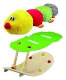 Dřevěné hračky Houpací housenka Wonderworld