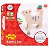 Dřevěné hračky Bigjigs Toys Kolik kočka unese?
