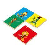 Dřevěné hračky Dřevěné hračky - dřevěné hry - Pexeso - Včelka Mája (barevn) Bino