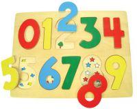 Dřevěné hračky Bigjigs Toys Počítání s obrázky