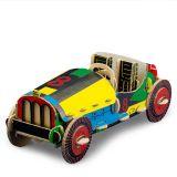 Dřevěné hračky TO DO kartonová 3D skládačka Auto