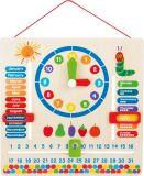 Dřevěné hračky Didaktický kalendář hladová housenka Small foot by Legler