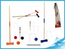 Dřevěné hračky Dřevěná hra Kroket v síťce Mikro Trading