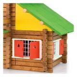 Dřevěné hračky Dřevěná stavebnice Jeujura - 175 dílů