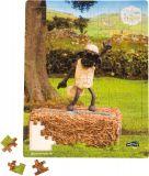 Small Foot Dřevěné puzzle ovečka Shaun tančící 100 dílků
