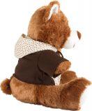 Dřevěné hračky Small Foot Plyšový medvídek s kapucí Small foot by Legler