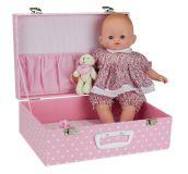 Petitcollin Panenka v kufříku Baby Doll Capucine 36 cm