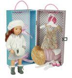 Petitcollin panenka v kufříku Olga 34 cm