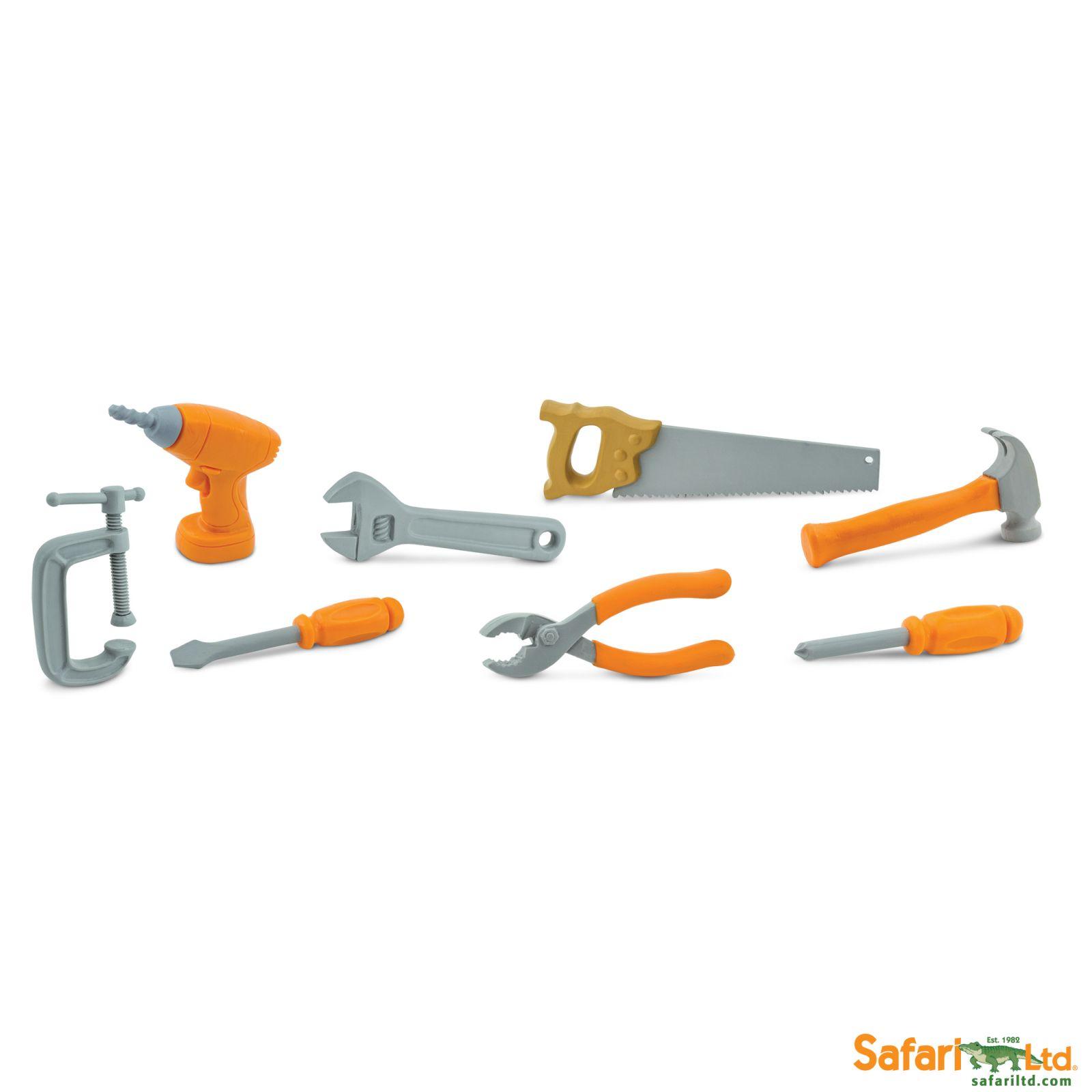 Dřevěné hračky Safari Ltd - Tuba - Nářadí