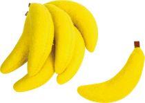 Small Foot Textilní banány sada 7 ks