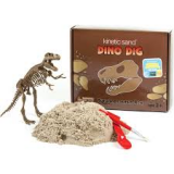 Wabafun - Sada s kinetickým pískem - Dino Dig T-Rex