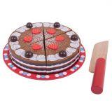 Bigjigs Toys Krájecí čokoládový dort