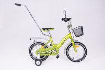 Dřevěné hračky Dětské kolo 1401 Exclusive - zelené Elgrom