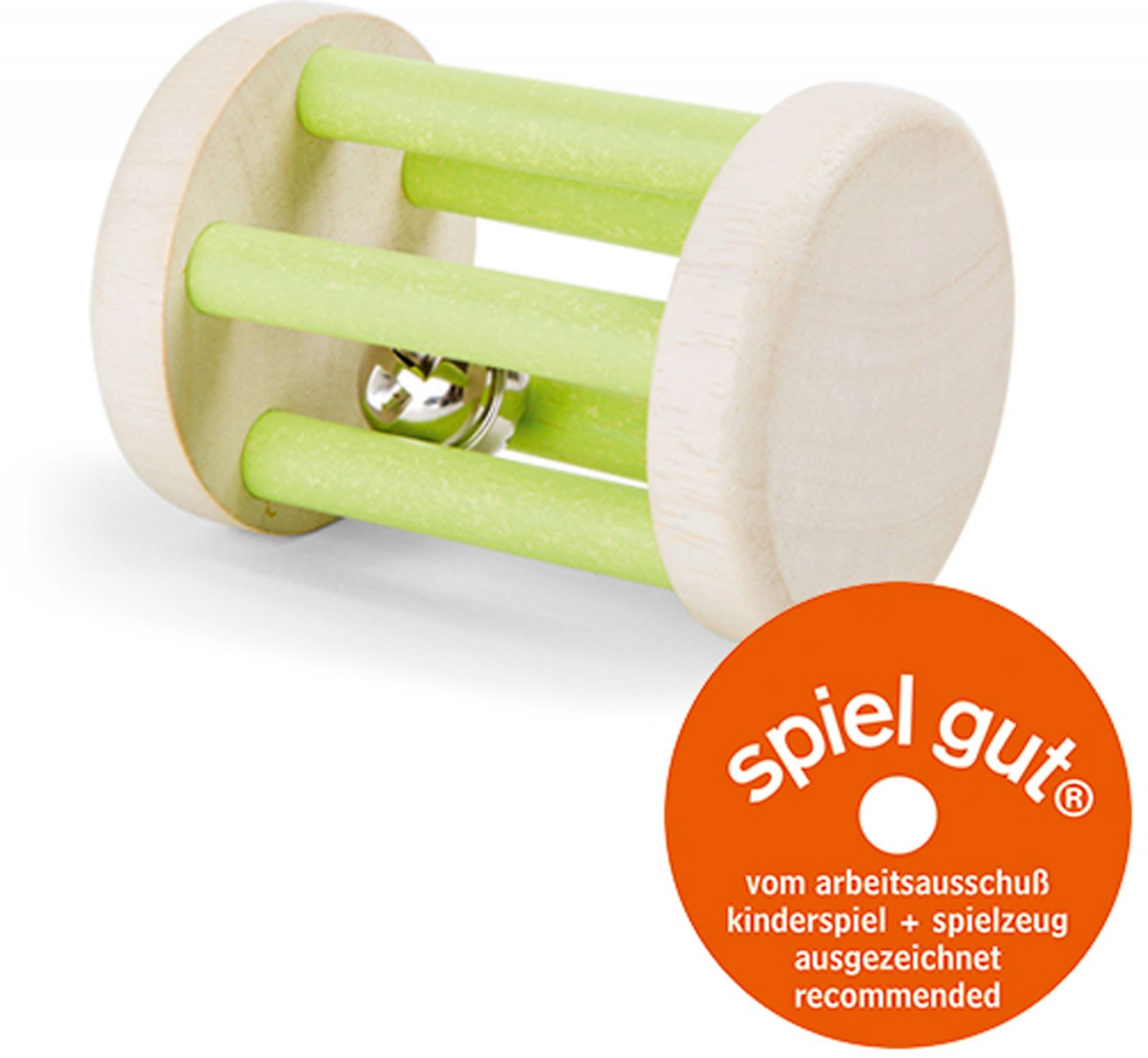 Dřevěné hračky Small Foot Dřevěné zvukové chrastítko válec Small foot by Legler