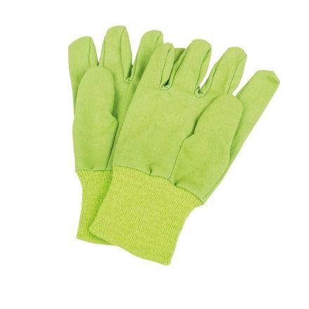 Dřevěné hračky Bigjigs Toys Zahradní rukavice zelené