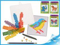 Mozaikové puzzle ptáček
