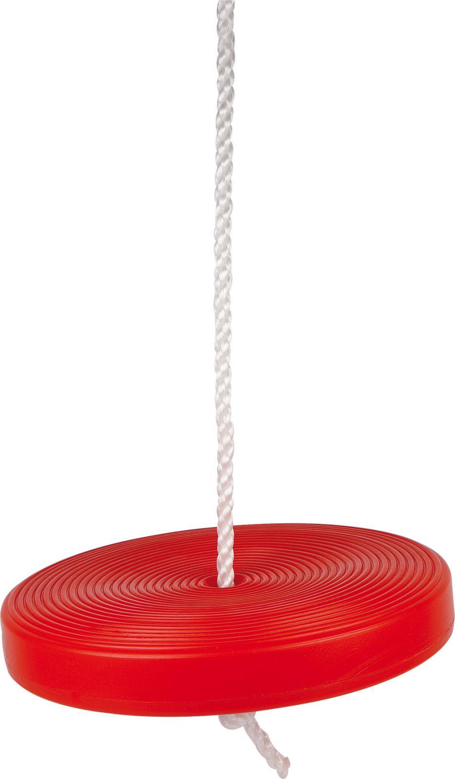 Dřevěné hračky Small Foot Plastová houpačka swift červená Small foot by Legler