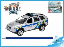 Policejní auto Volvo XC-90  na zpětný chod se světlem a zvukem