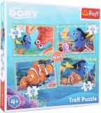 Small Foot Puzzle hledá se Dory 4v1