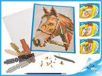 Velké mozaikové puzzle kůň