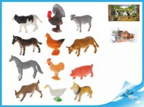 Zvířátka Farma 12 ks