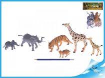 Zvířátka Safari samice a mláďaty 6ks