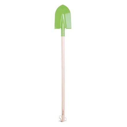 Dřevěné hračky Bigjigs Toys Zahradní lopata zelená