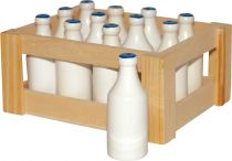 Small Foot Bedýnka s 12 sklenicemi mléka