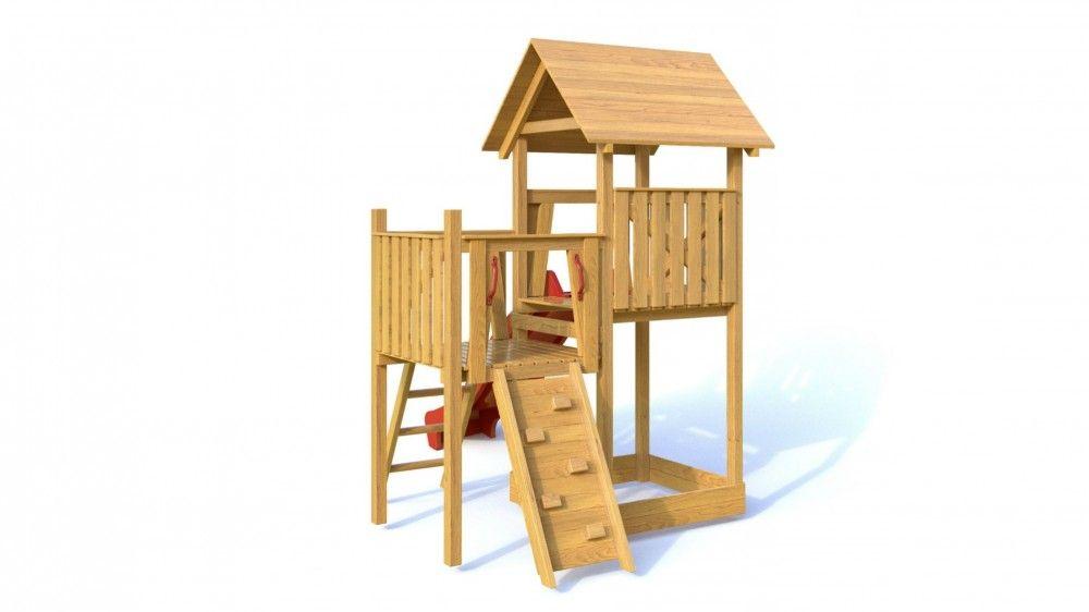 Dřevěné hračky Dřevěné dětské hřiště - Dětské hřiště BOBÍKDřevěné dětské hřiště - Dětské hřiště BOBÍK PA