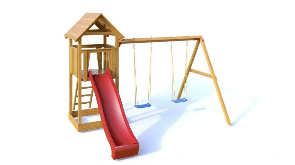 Dřevěné hračky Dřevěné dětské hřiště - Dětské hřiště NATÁLKA PA