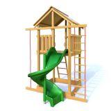 Dřevěné dětské hřiště - HONZÍK s tobogánem