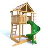 Dřevěné hračky Dřevěné dětské hřiště - HONZÍK s tobogánem PA
