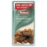 Torras Mléčná čokoláda s mandlí 75g