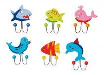 Small Foot Věšák mořská zvířátka 1 ks