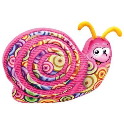 Dřevěné hračky Bino Šnek barevný