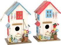 Small Foot Set dřevěná  ptačí budka vila 2 ks
