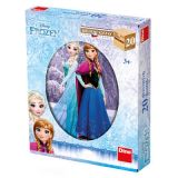 Dino Dřevěné kostky Frozen 20 ks
