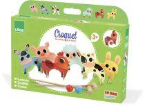Dřevěné hračky Vilac Kroket Farma zvířat