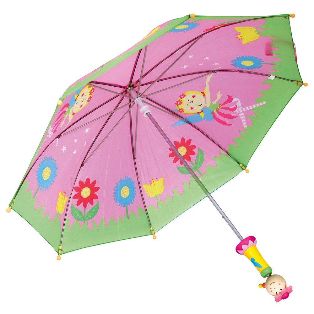 Dřevěné hračky Bino Deštník víla