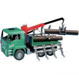 Bruder - Nákladní auto MAN - přepravník dřeva