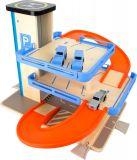 Dřevěné hračky Small Foot Dřevěná patrová garáž s výtahem Small foot by Legler