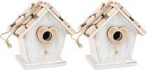 Dřevěná dekorace - Pačí budka 2 ks
