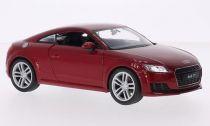 Welly - Audi TT coupe 2014  model 1:24 červené