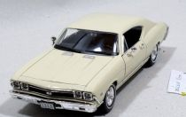 Welly - Chevrolet Chevelle SS 396 (1968) model 1:24 béžový