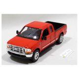Welly - Ford F-350 Pick Up model 1:24 červený