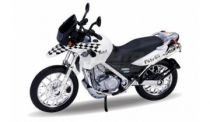 Welly - Motocykl BMW F650GS Dakar model 1:18 bílý