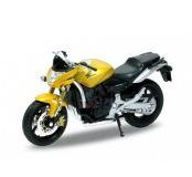 Welly - Motocykl Honda Hornet model 1:18 žlutý